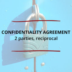 Confidentiality Agreement–2 parties Reciprocal Saved For Web3
