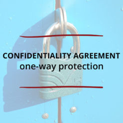 Confidentiality Agreement–one way protection Saved For Web2