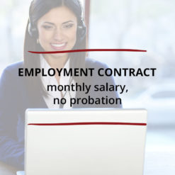 Employment Contract–Monthly Salary no Probation Saved For Web3