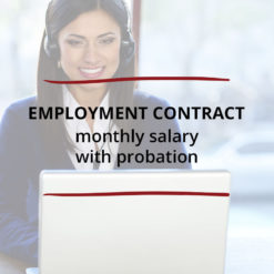 Employment Contract–Monthly Salary with Probation Saved For Web3
