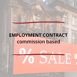 Employment Contract Commission based Saved For Web3