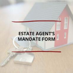 Estate Agent's Mandate Form Saved For Web