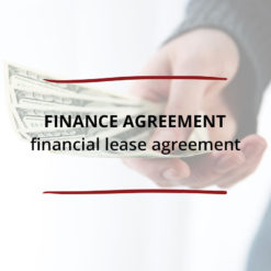 Finance Agreement Financial Lease Agreement Saved For Web
