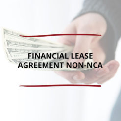 Financial Lease Agreement non NCA Saved For Web