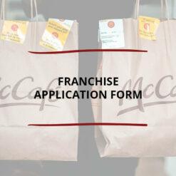 Franchise Application Form Saved ForWeb2