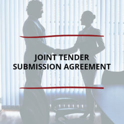 Joint Tender Submission Agreement Saved For Web2
