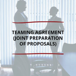 Teaming Agreement Joint Preparation of Proposals Saved For Web2
