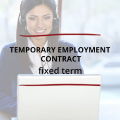 Temporary Employment Contract–Fixed Term Saved For Web2