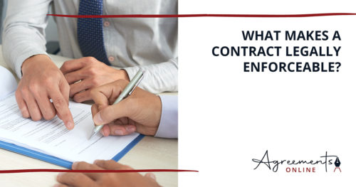 AGREEMENTS ONLINE contract legally enforceable blog44 500x263 1
