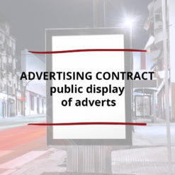 AO product image   CONTRACT   Advertising Contract   public display of adverts 1