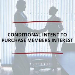 Conditional Intent to Purchase Members Interest Saved For Web2
