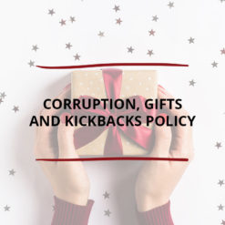 Corruption Gifts and Kickbacks Policy Saved For Web