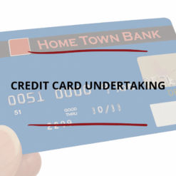 Credit Card Undertaking Saved For Web2