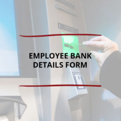 Employee Bank Details Form Saved For Web2