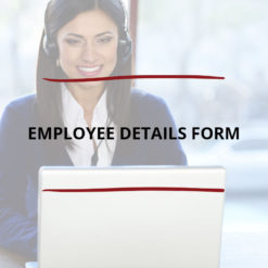 Employee Details Form Saved For Web2