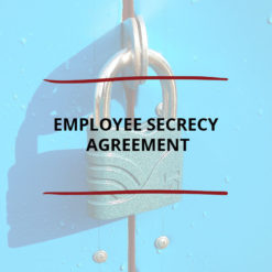 Employee Secrecy Agreement Saved For Web2