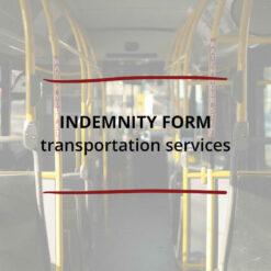 Indemnity Form–Transportation Services Saved For Web