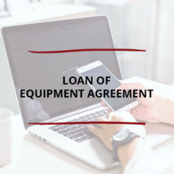 Loan of Equipment Agreement Saved For Web