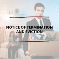 Notice of Termination and Eviction Saved For Web