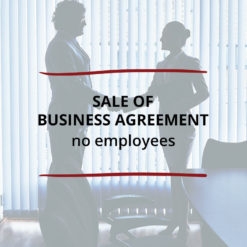 Sale of Business Agreement–no employees Saved For Web2