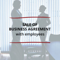 Sale of Business Agreement–with employees Saved For Web2