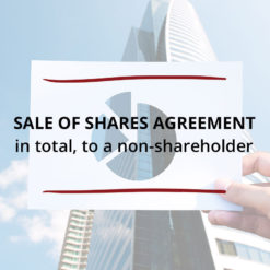 Sale of Shares Agreement–in total to a non shareholder Saved For Web3
