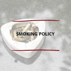 Smoking Policy Saved For Web2