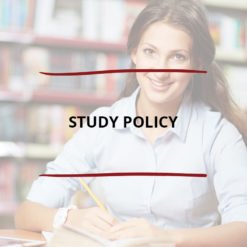 Study Policy Saved For Web2