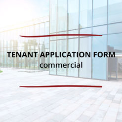 Tenant Application Form–Commercial Saved For Web