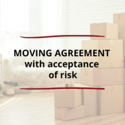 AO product image   CONTRACT   Moving Agreement with Acceptance of Risk