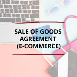 AO product image   CONTRACT   Sale of Goods Agreement E commerce