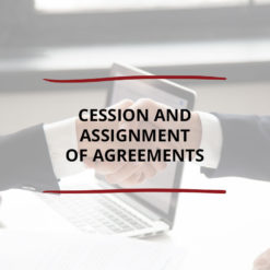 Cession and Assignment of Agreements Saved For Web