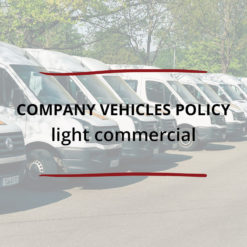 Company Vehicles Policy–light commercial Saved For Web2