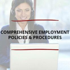 Comprehensive Employment Policies Procedures Saved For Web2