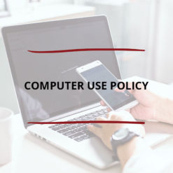 Computer Use Policy Saved For Web2