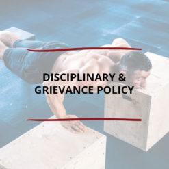 Disciplinary Grievance Policy Saved For Web2
