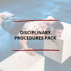 Disciplinary Procedures Pack Saved For Web2