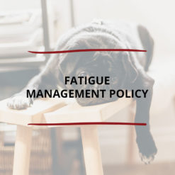 Fatigue Management Policy Saved For Web