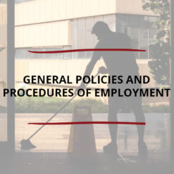 General Policies and Procedures of Employment Saved For Web2