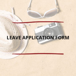 Leave Application Form Saved For Web2