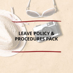 Leave Policy Procedures Pack Saved For Web2