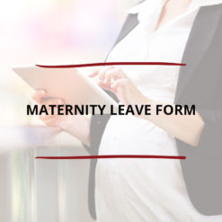 Maternity Leave Form Saved For Web2