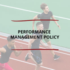 Performance Management Policy Saved For Web2