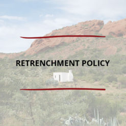 Retrenchment Policy Saved For Web