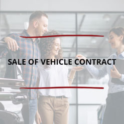 Sale of Vehicle Contract Saved For Web