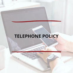 Telephone Policy Saved For Web2