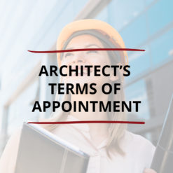 AO product image   CONTRACT   Architect's Terms of Appointment