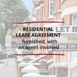 Residential Lease Agreement–Furnished with an agent involved Saved For Web