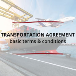 Transportation Agreement Basic terms conditions Saved For Web