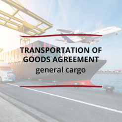 Transportation of Goods Agreement–General Cargo Saved For Web